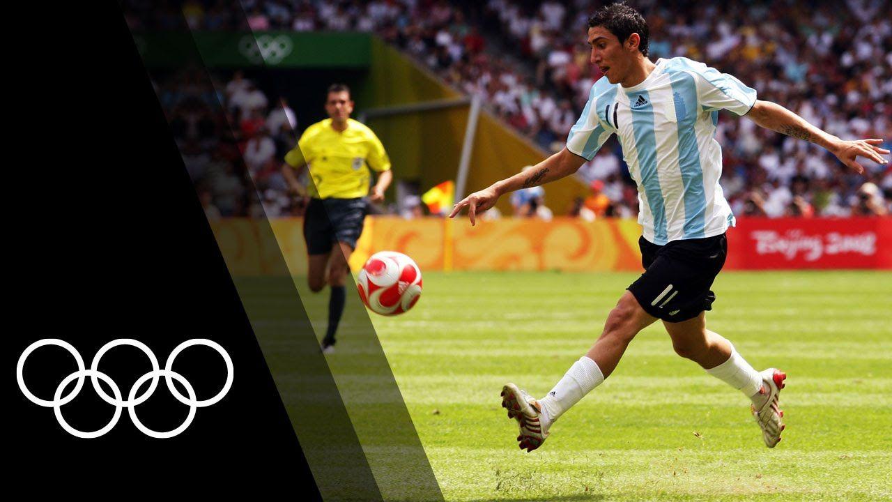 الدول الفائزة بذهبية كرة القدم في تاريخ الأولمبياد Olympic Football Olympic Channel Angel Di Maria