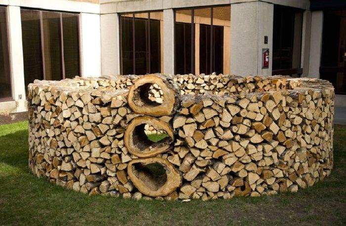 Firewood As Art Wood Stacking Firewood Firewood