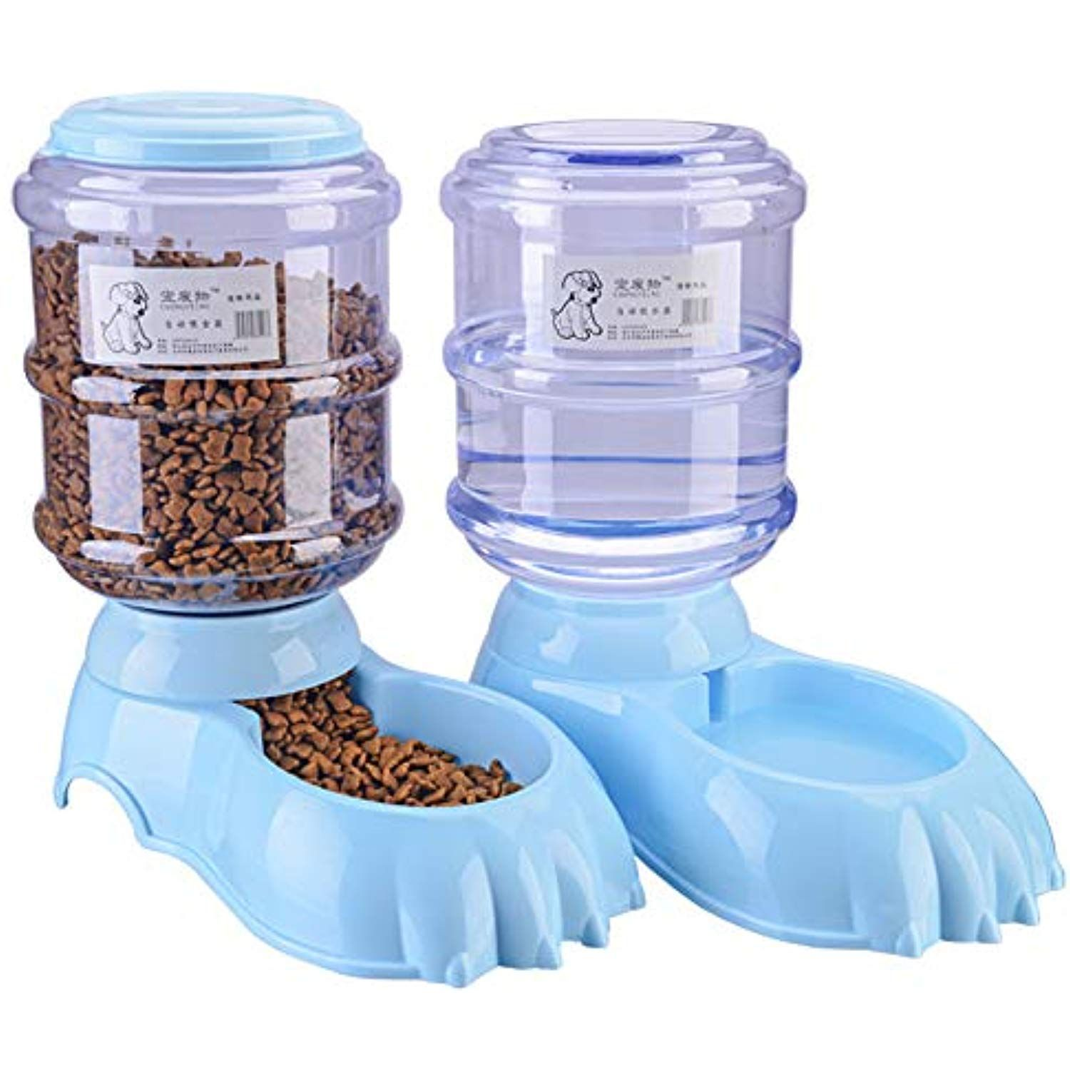 Automatic Pet Feeder And Water Dispenser Cat And Dog Food