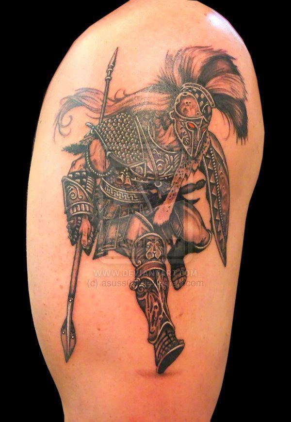 Mars Roman God Of War Tattoo