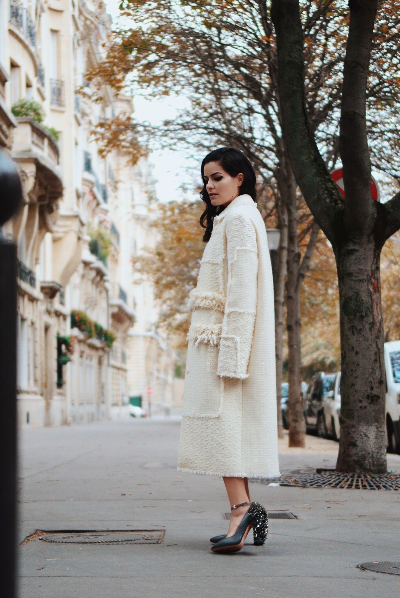 Editorial fotografado em Paris por Renato Milani - Look Nina Ricci