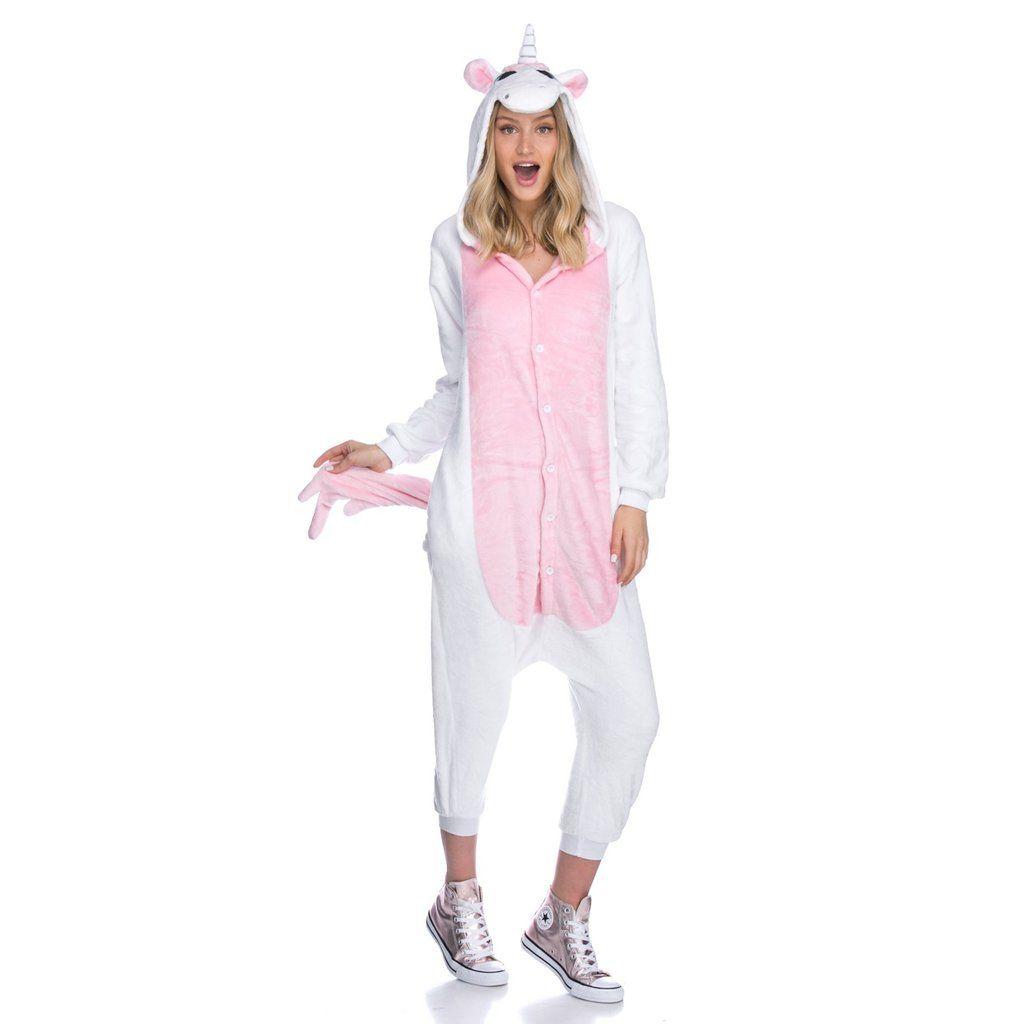 White Unicorn Onesie Onesies Fashion White Unicorn