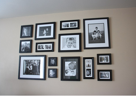 Pictures and frames for walls | Home decor | Pinterest | White photo ...