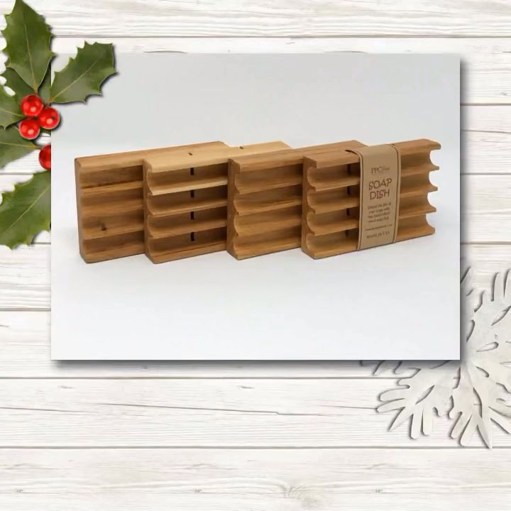 Handmade soap dishes made out of hickory, maple, red oak and poplar wood. Order yours today  www.ppchandmade.com #soapdish #handmadesoap #hamdmadesoapdish #ppchandmade #shoplocal #christmasgifts #woodsoapdish