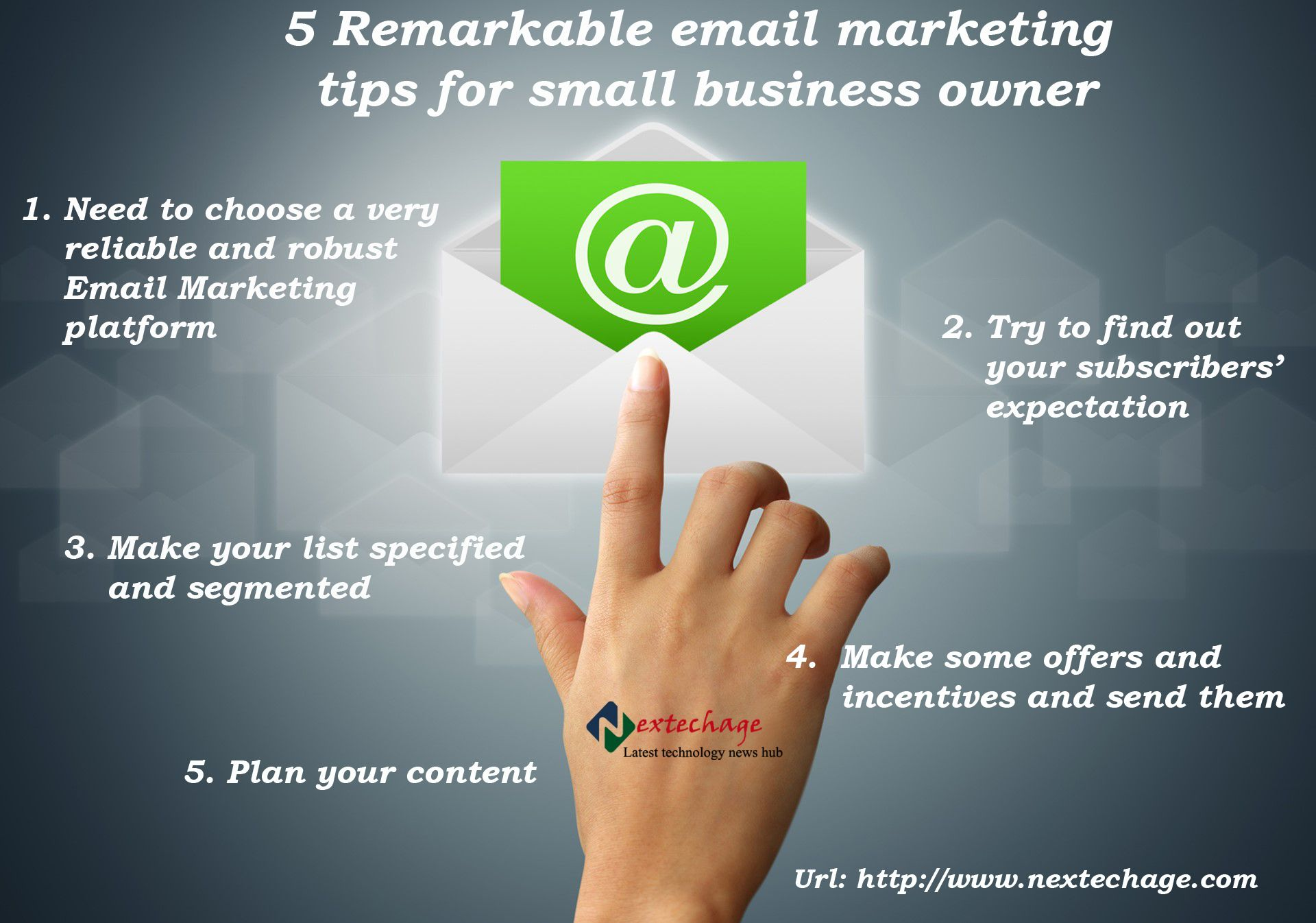 Email Marketing Tips for Small Business owner.