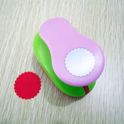 36mm 15 Wavy Hole Punch Paper Puncher Circle Scrapbooking Punches