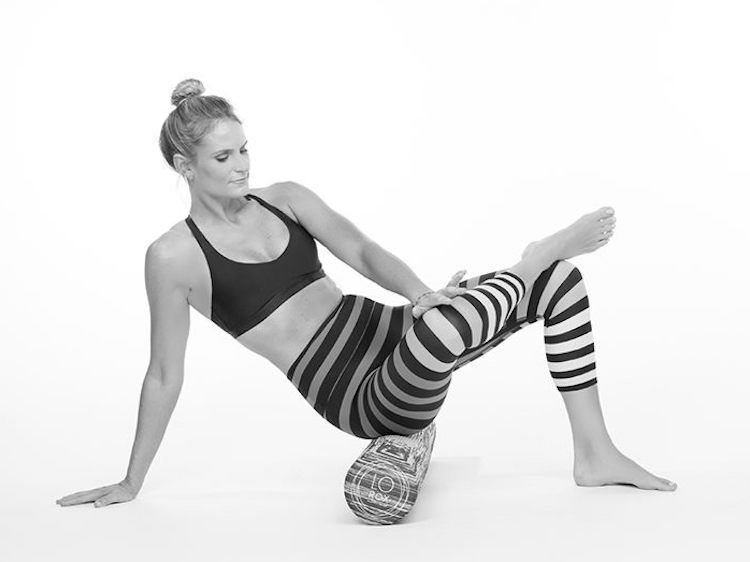 A foam roller routine designed to target, treat, and prevent lower back pain. Her tips for avoiding a back problems in the first place are a good idea for just about everyone—her restorative routine has benefits beyond soothing your back, e.g., strengthening your core and butt, promoting healthy circulation, and relaxing the body. Click through - you can do this right now at home.