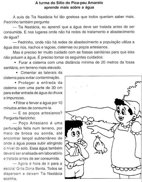 Textos Para Imprimir Leituras Com Imagens Texto Para