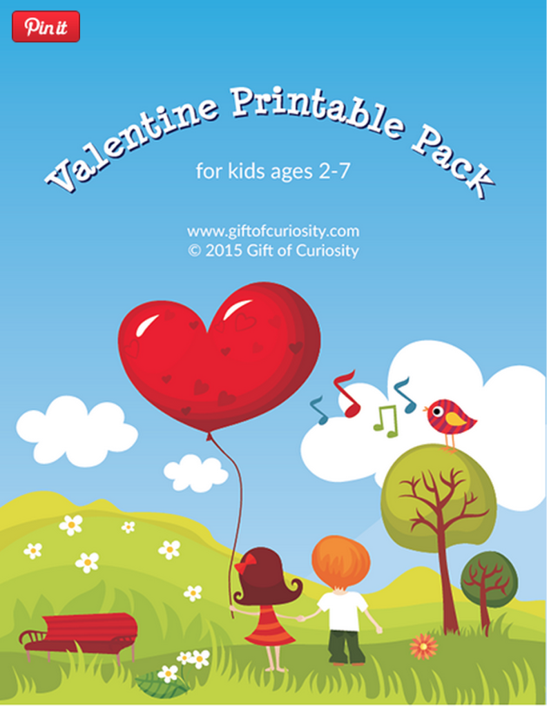 Free Printable Valentine\'s Day Worksheets for Kids | Worksheets ...