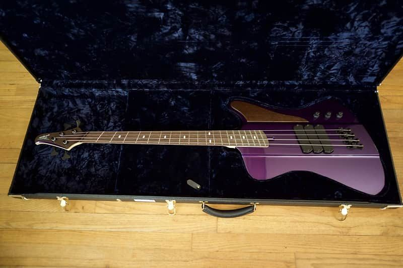 Dingwall dbird custom 2017 candy purple this is the top