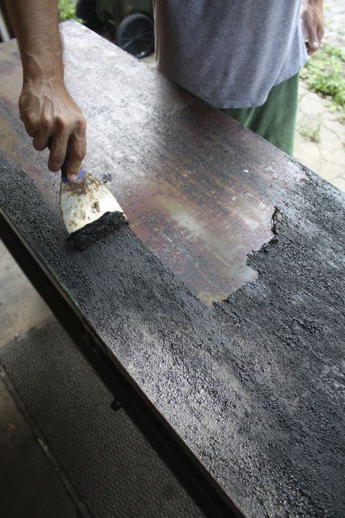forming strip of for surface metal