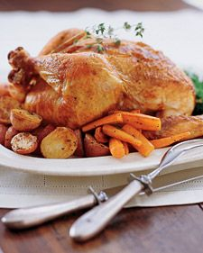 The almost universal appeal of roast chicken stems from its power to comfort. The ideal roast chicken -- golden brown and gleaming, tender and juicy -- engages each sense. The crackle of chicken as it cooks and the wondrous aroma that perfumes the kitchen provoke a feeling of satisfaction and fulfillment.