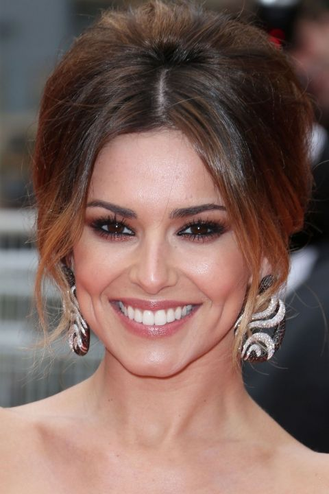 Cheryl Cole Hairstyles Our Fave Looks Look Cheryl Cole Hair Hair Styles Red Carpet Hair Updo