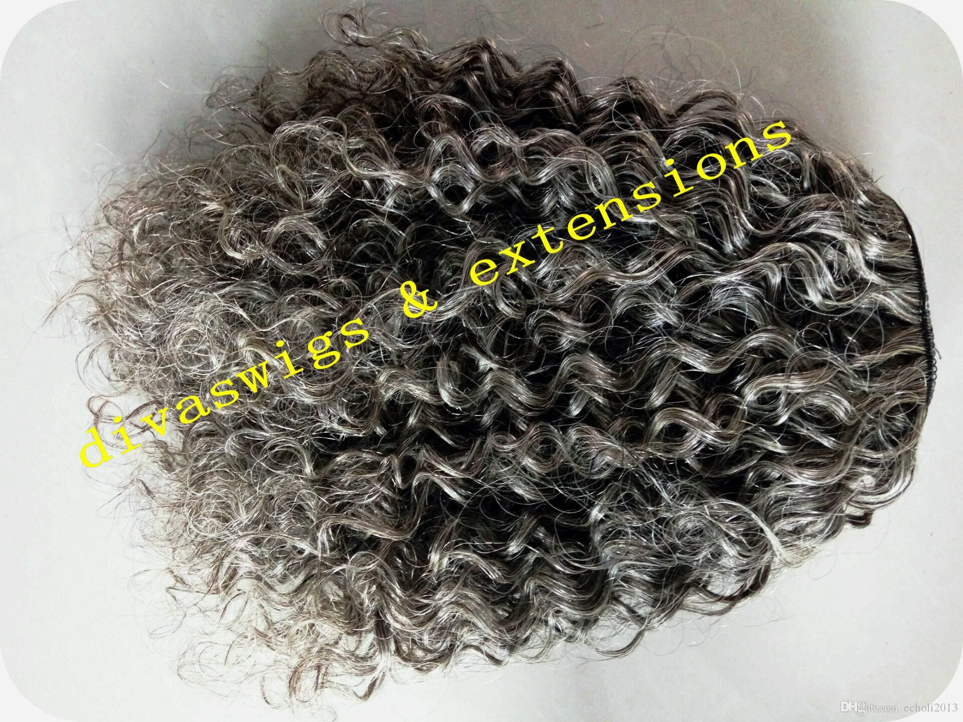 100% Real Hair Gray Puff Afro Ponytail Hair Extension Clip In Remy Afro Kinky Curly Drawstring Ponytails Grey Hair Extension 120g Hairstyles In Ponytails Hairstyles With Ponytail From Echoli2013, $46.74| DHgate.Com