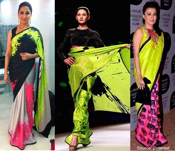 neon sarees online