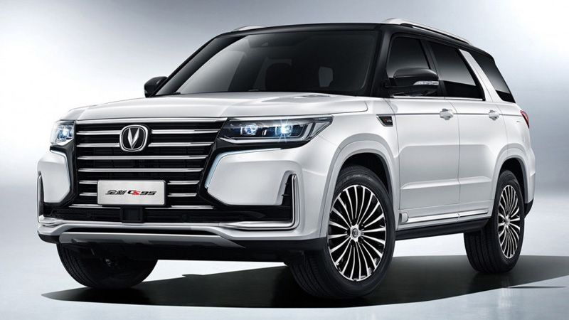 Krossover Changan Cs95 2019 Smes Lexus I Range Rover