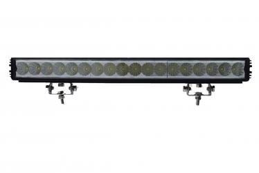 Single Row 54 Watt 4050 Lumen Led Light Bar With Images Led Light Bars Led Lights Bar Lighting