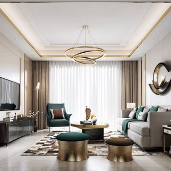 Modern Living Room With Dining Room 3ds Max Models Download Max Files Cgmo Modern Living Room Lighting Interior Design Living Room Modern Style Living Room