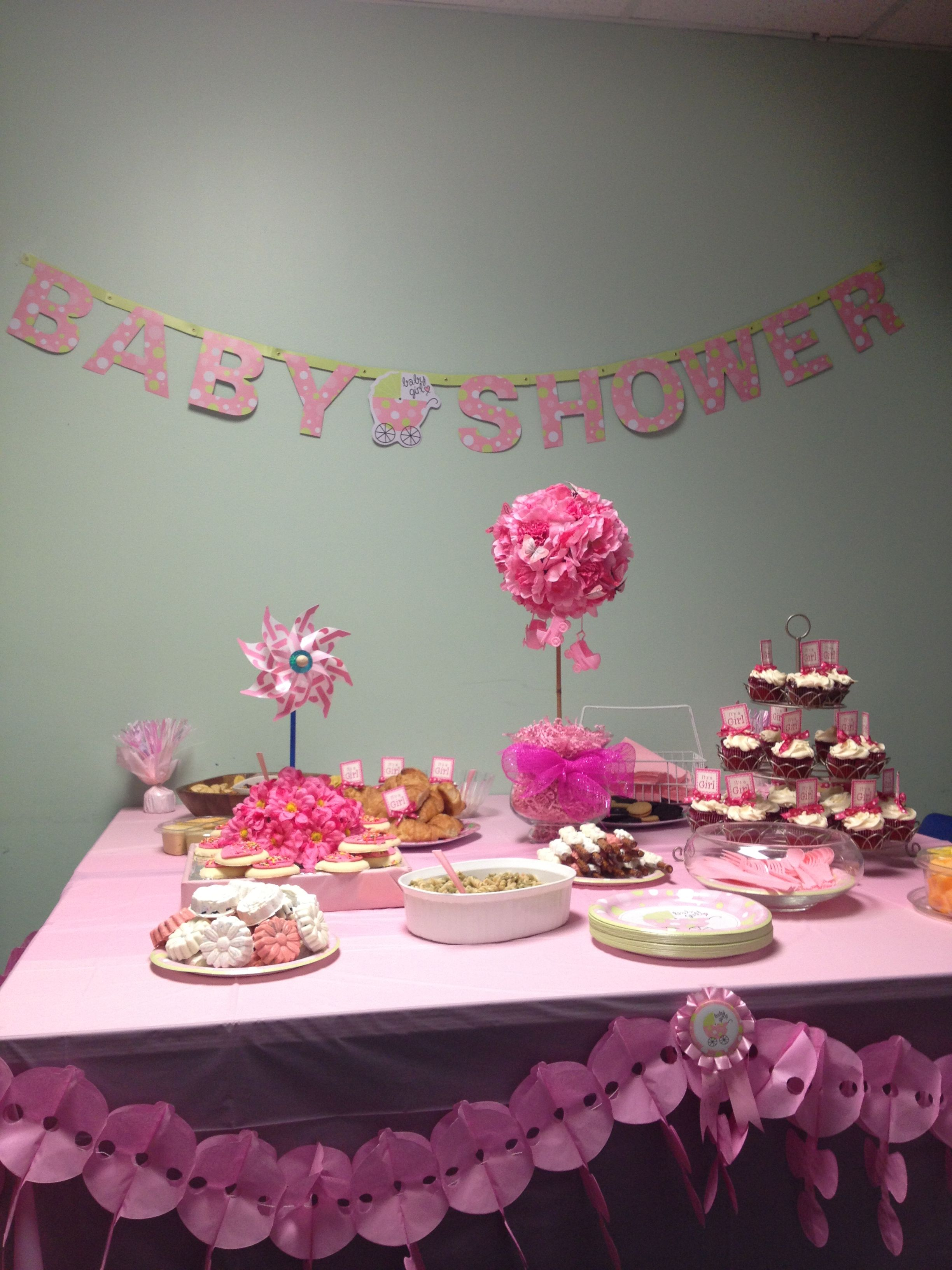 Baby Shower At Work Baby Shower Party Food Baby Shower Planning