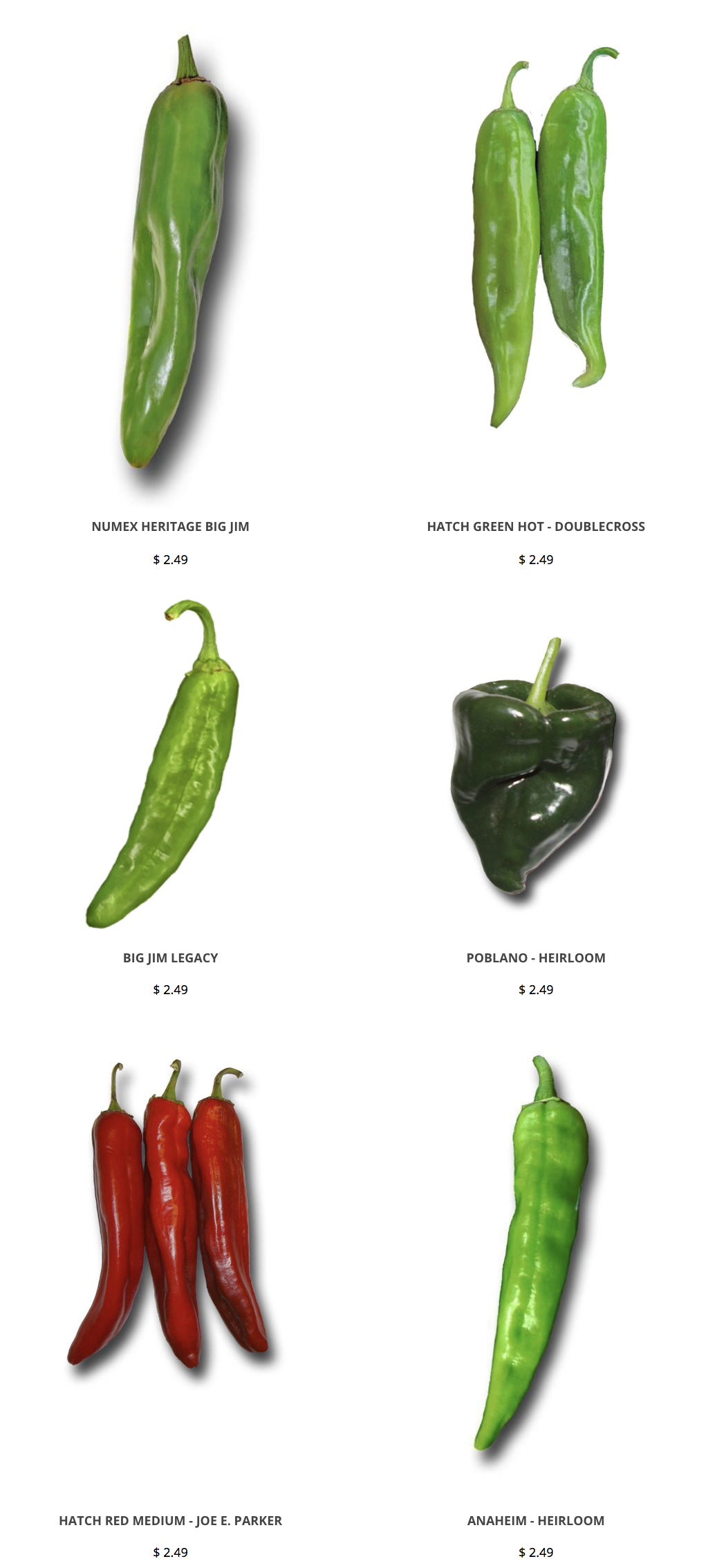 Hatch Chile Seeds For Spicy New Mexican Recipes Https Www