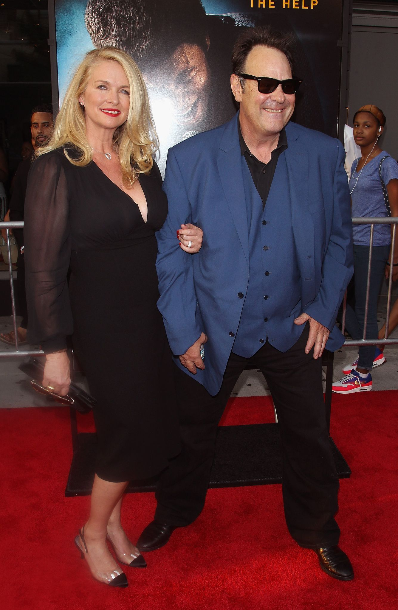 Dan Aykroyd with gracious, Wife Donna Dixon