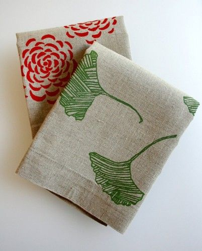Tea Towels Flax Linen By Pony Poppy