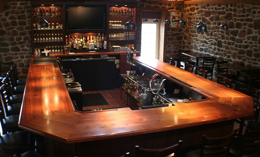 Sapele Mahogany Wood Countertops Butcher Block Bar Tops Creating Custom  High End Counter For Cheap