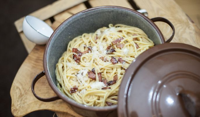 Rezept Spaghetti Carbonara | Because You are hungry