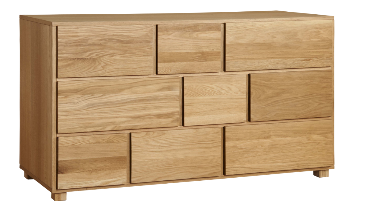 hana ii commode basse en ch ne massif bali furniture pinterest d coration int rieure eaux. Black Bedroom Furniture Sets. Home Design Ideas