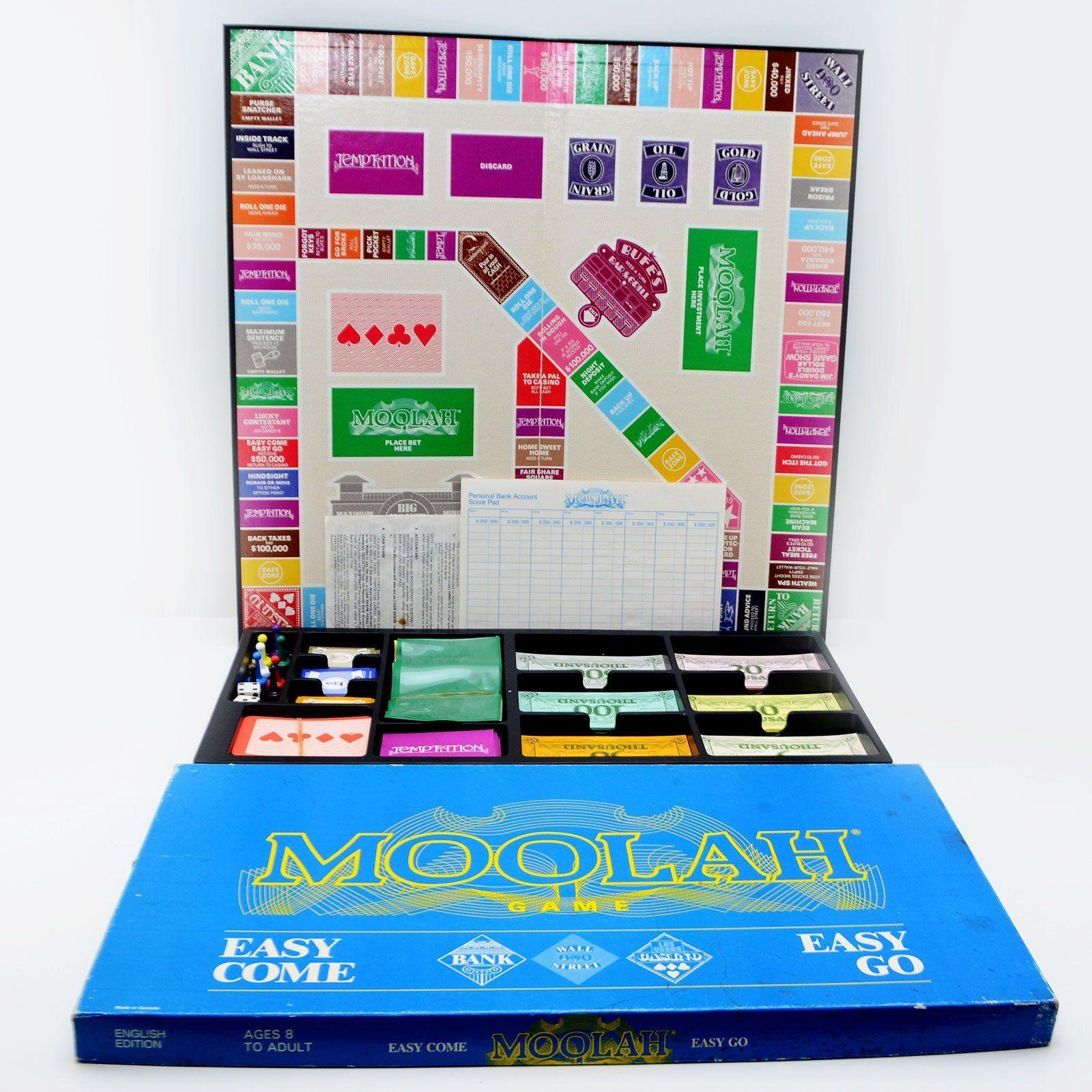 Moolah Board Game