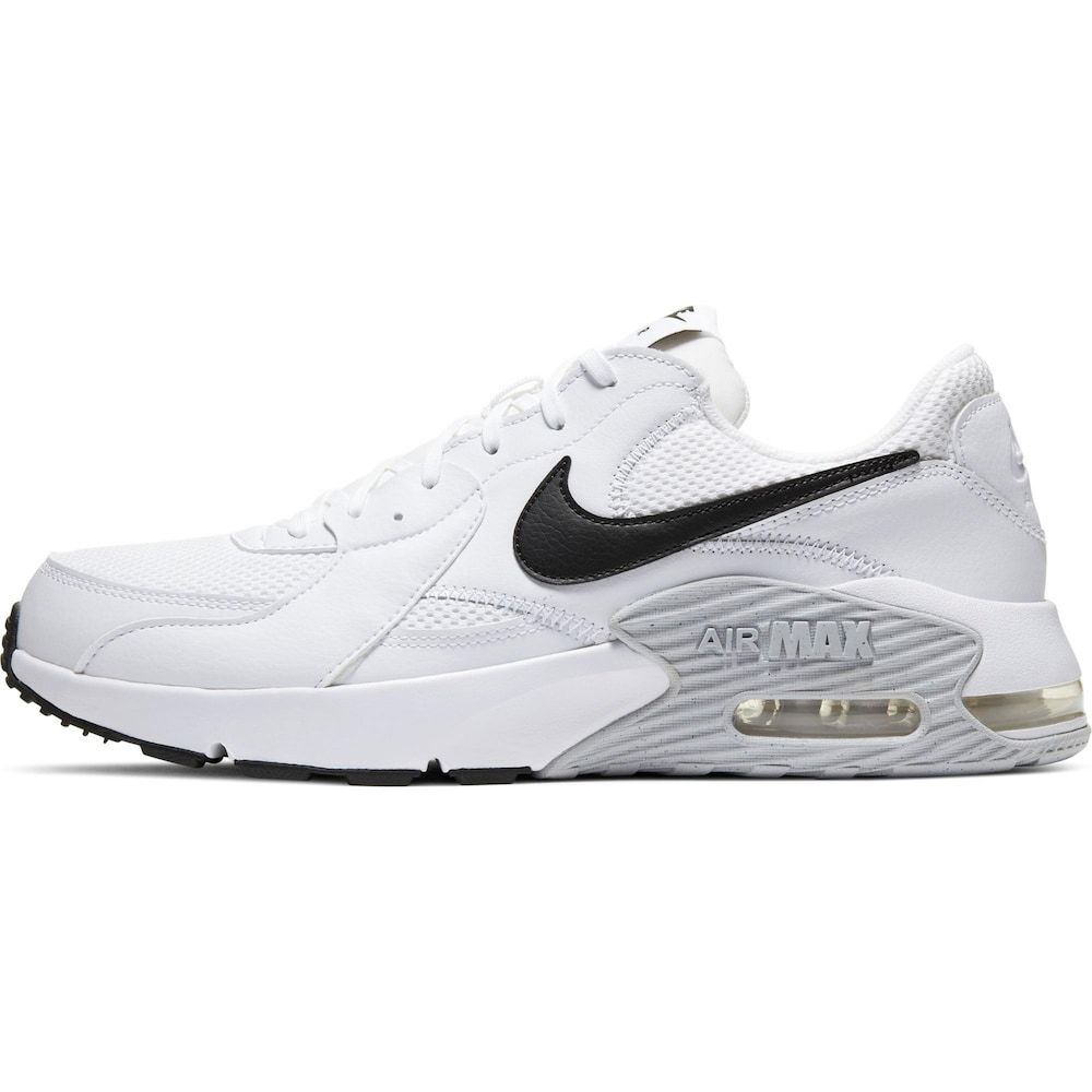 Nike Sportswear Sneaker Air Max Excee Herren Hellgrau Weiss Schwarz Grosse 47 5 In 2020 Weisse Nike Schuhe Nike Sportbekleidung Und Herrenschuhe