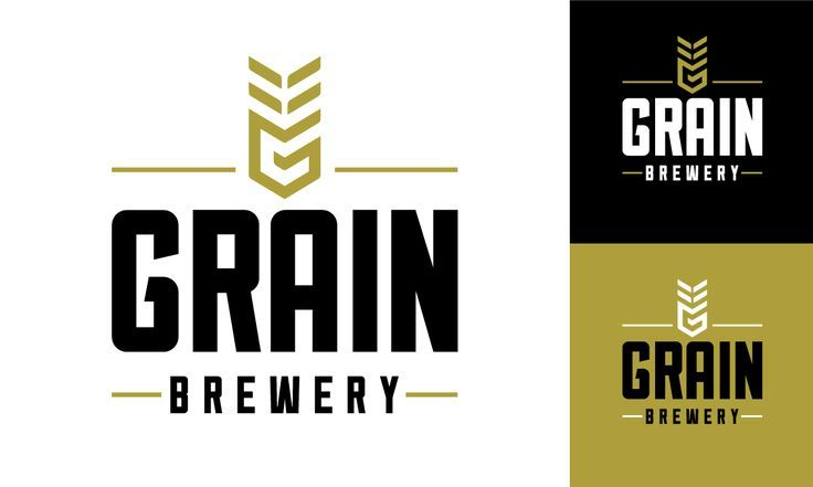 Grain Brewery Branding And Visual Identity Positioning A Rural