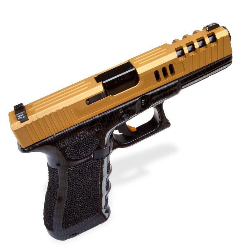 Custom Gold Slide with Carbon Fiber Frame and Ultimate
