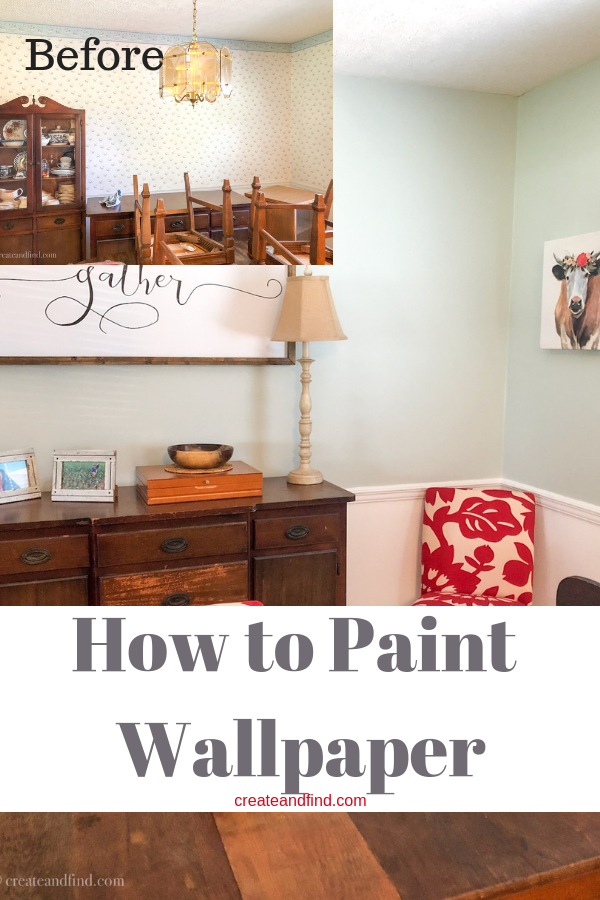 Painting Wallpaper How To Do It Right! Painting over