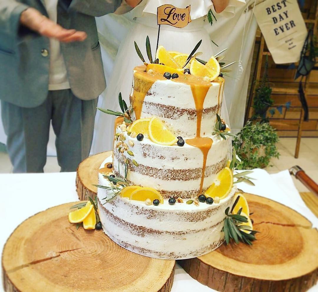 ウェディングケーキの新演出〔カラードリップケーキ〕のやり方まとめ marry[マリー] ウェディングケーキ
