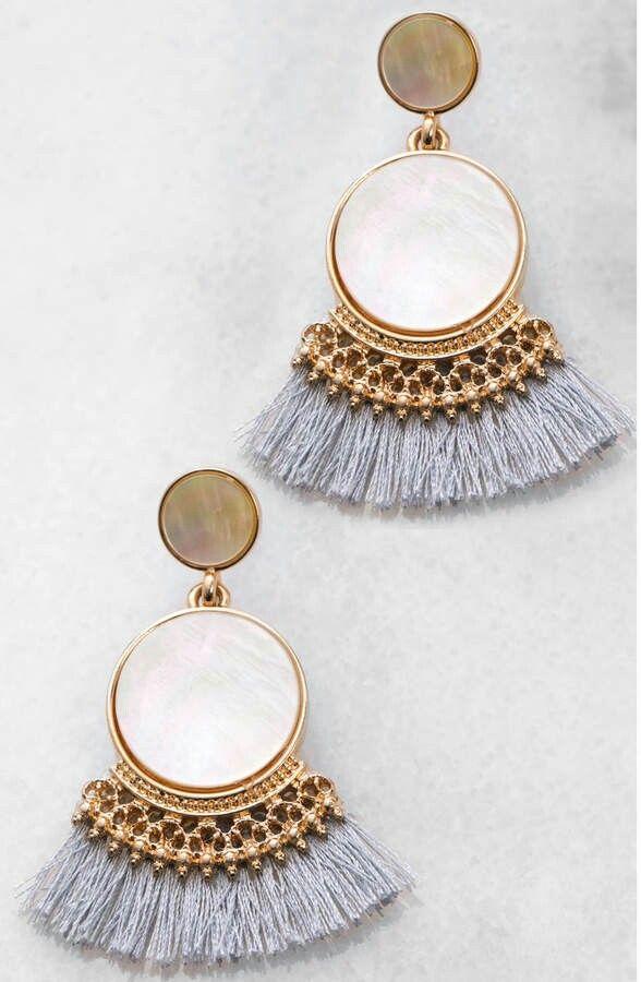 South Moon Drop Earrings Accesorios De Joyeria Aretes