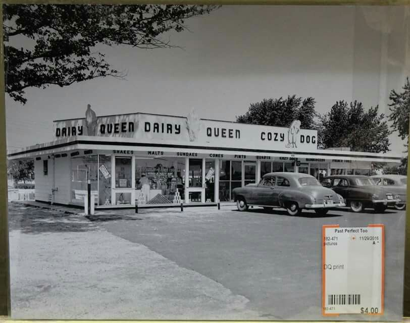 First lawton dairy queen 1930s1940s cozy dog drive