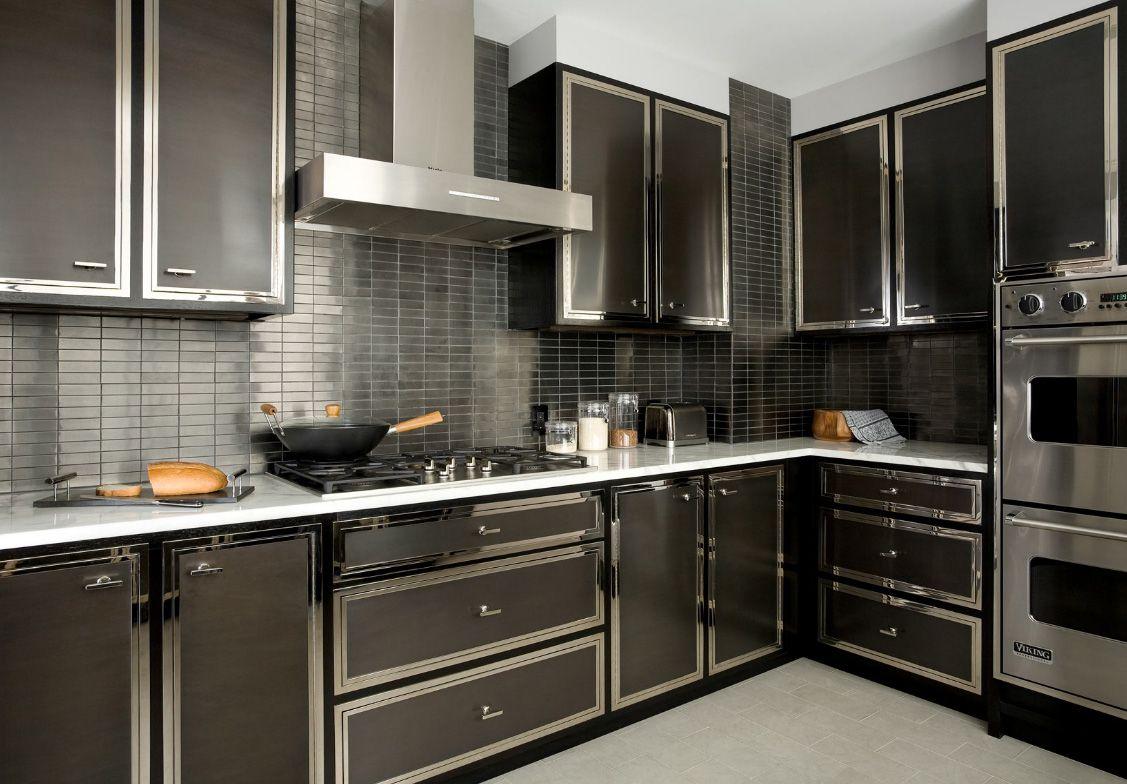 Sleek Kitchen Cabinets Kitchen Paradise Black Kitchen Cabinets