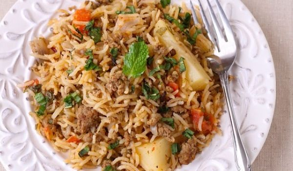 Keema Rice Recipe Recipes Mutton Rice Recipes Rice Food