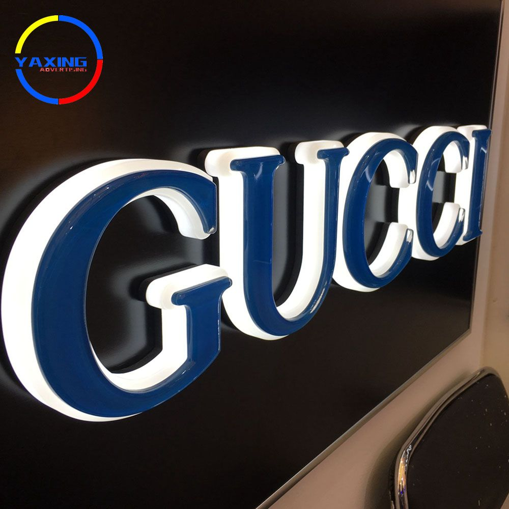 Outdoor 3d Led Lighted Box Letters Pizza Store Name Signs 3d Acrylic Store Sign Name Signs Signage Board Advertising Signs