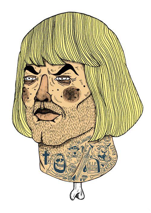 Bene Rohlmann #illustration http://www.flickr.com/photos/the_pearpicker / http://benerohlmann.tumblr.com / #collage http://gluepaperscissors.tumblr.com / http://www.pearpicker.de