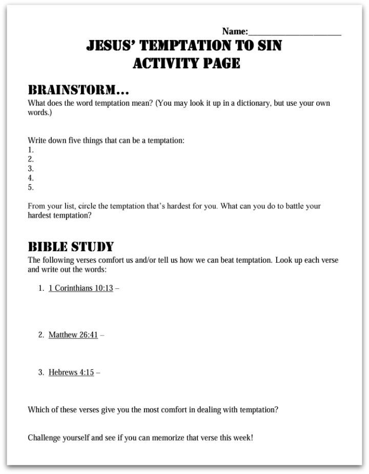 baptism worksheets for middle school baptism best free printable worksheets. Black Bedroom Furniture Sets. Home Design Ideas