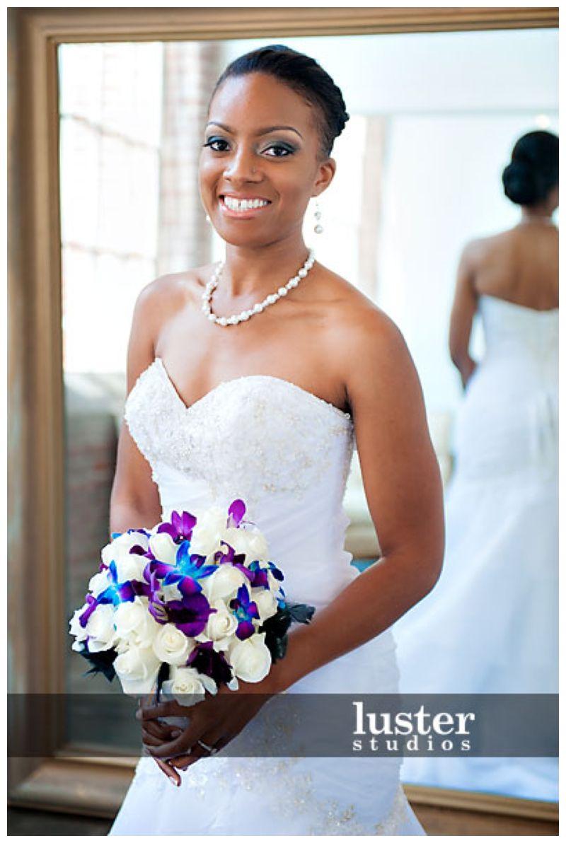 Beautiful African American Bride Lace Weddings Beautiful Bride