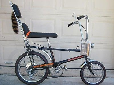 37a19beb8c5 Rare Vintage Muscle Bike 1970 5spd Raleigh Chopper Bicycle like Schwinn  Krate