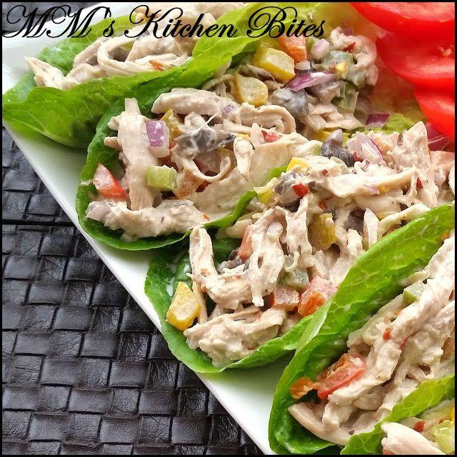 MM's Kitchen Bites: Healthier Creamy Chicken Salad