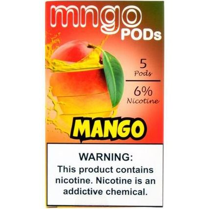 Mngo Pods Mango for Juul 5 pack | PODS | Mango, Packing, Summer vibes