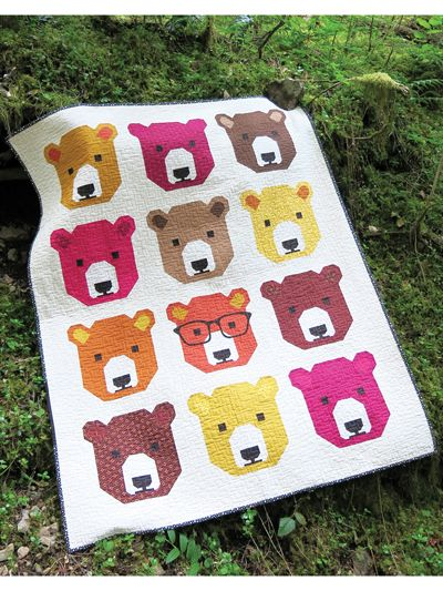Bjorn Bear Quilt Pattern From Annies Craft Store Order Here Https