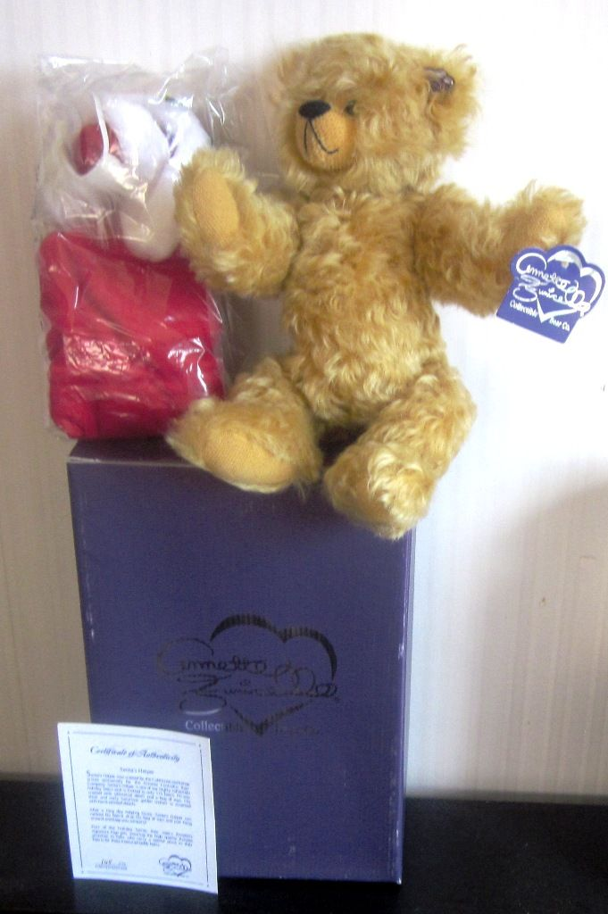 Annette Funicello Annette Funicello Miss Kitty Mohair Bear Limited Edition 5000