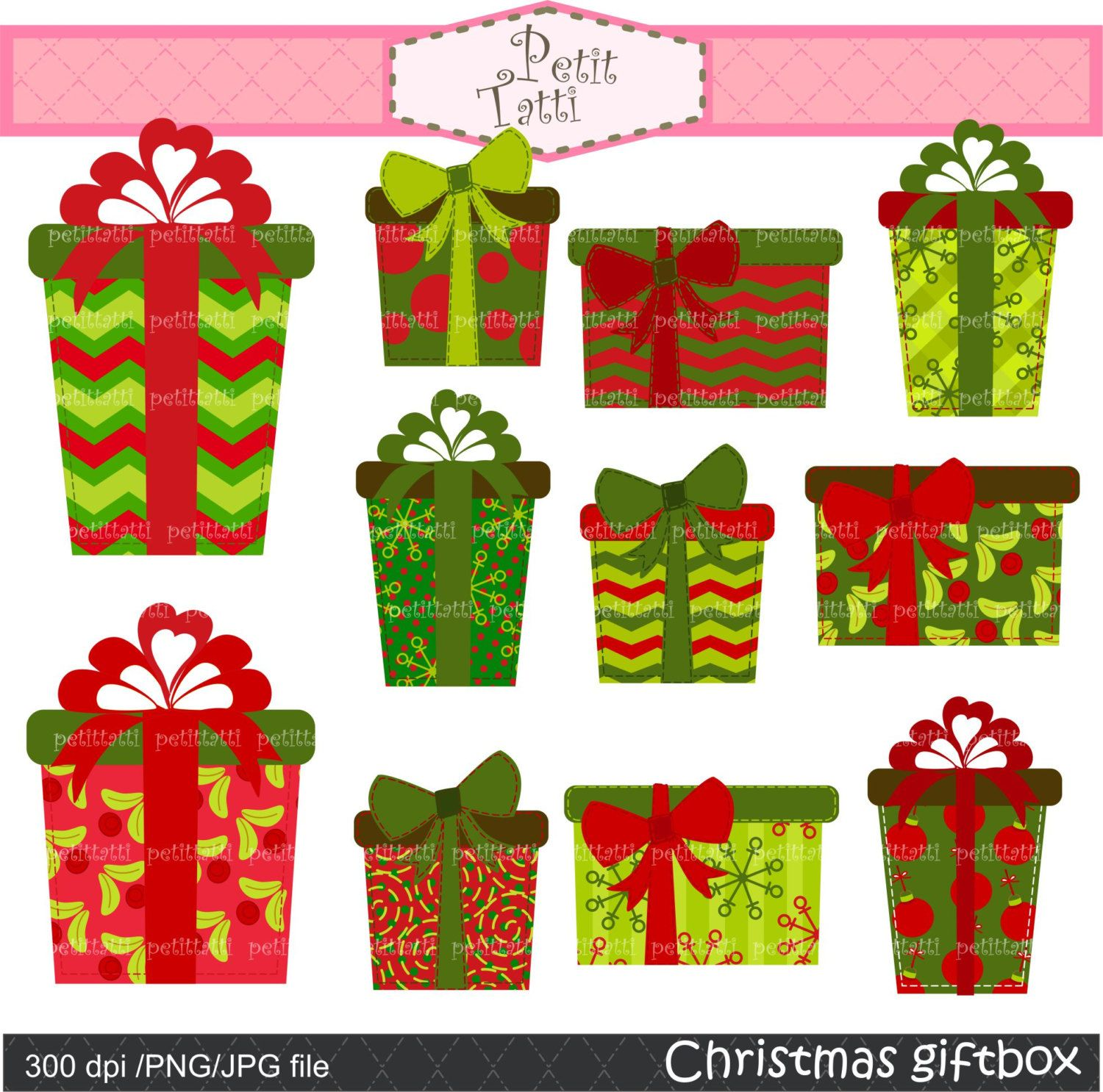 christmas present clip art | Free Christmas Clip Arts Images in ...