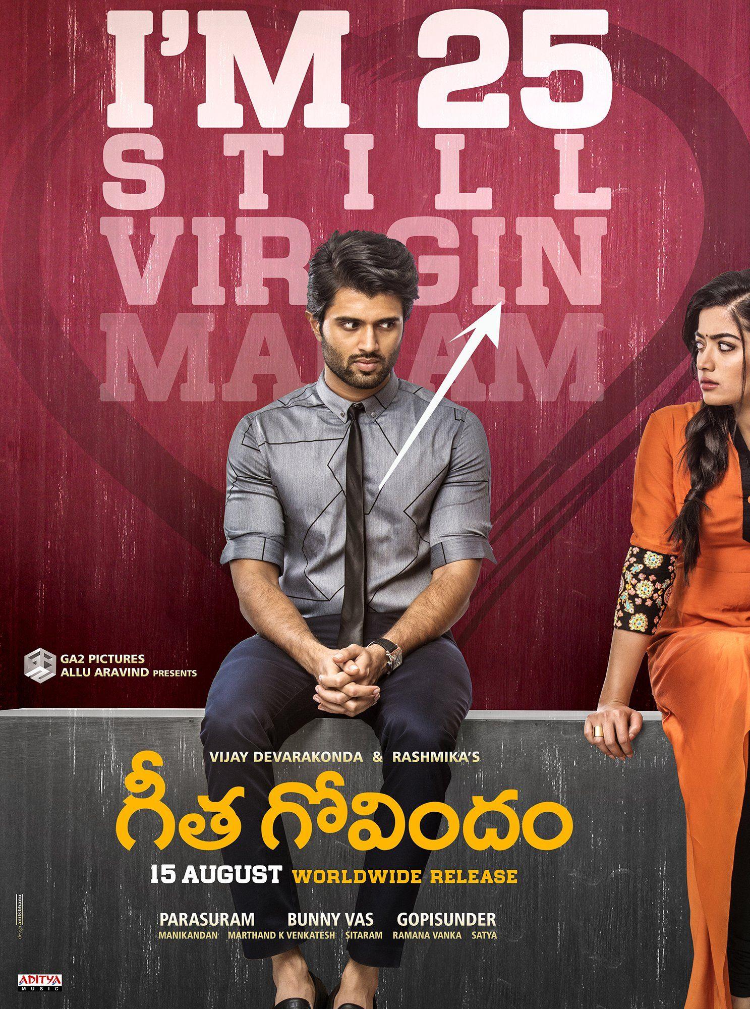 Geetha Govindam Movie Release Date Posters Telugu Movies